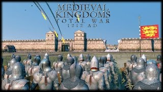 GRINDING SIEGE! - Medieval Kingdoms 1212AD Total War Mod Gameplay!