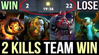 2 KILLS TEAM WIN?!😮 Next Level Rat Strat in International 2017 WTF Dota 2