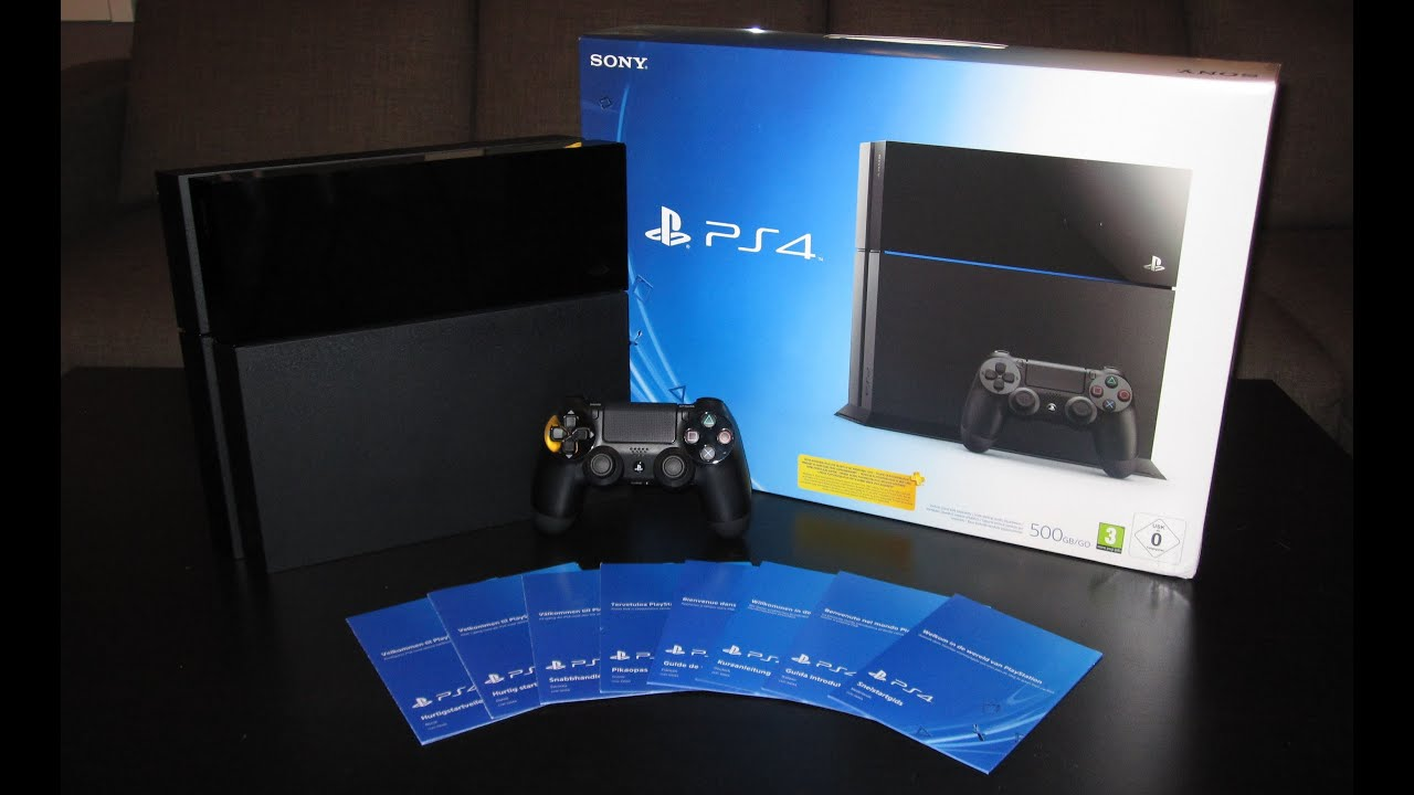 Unboxing The Playstation 4 European Version Youtube