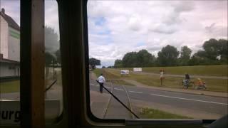 Fahrt mit der Kleinbahn von Lüneburg nach Bleckede