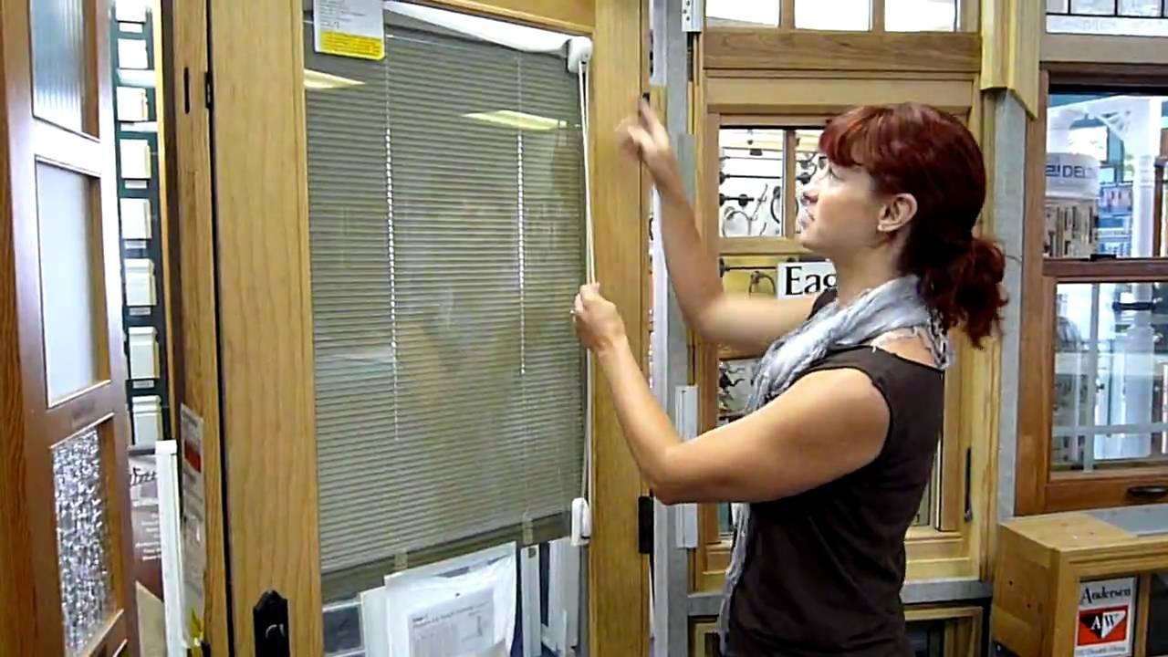 Eagle Between-Glass Blinds for Door Window - YouTube