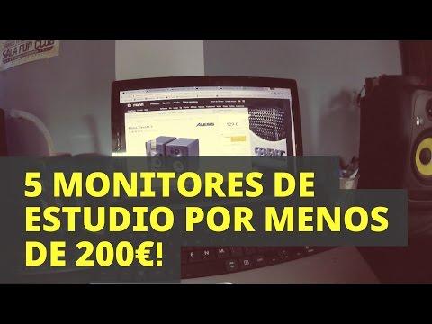 5 MONITORES DE ESTUDIO POR MENOS DE 200€ | La mejor relación calidad-precio