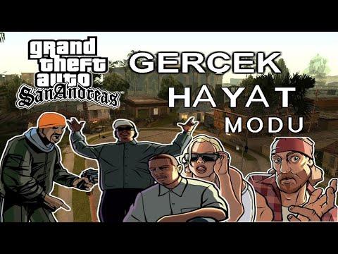 GTA SAN ANDREAS MODLAR #2 /Gerçek Hayat MOD/TANITIM/İNDİR