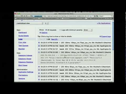 Google I/O 2010 - Data pipelines with Google App Engine