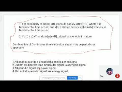 Signal Analysis Energy and Power 1