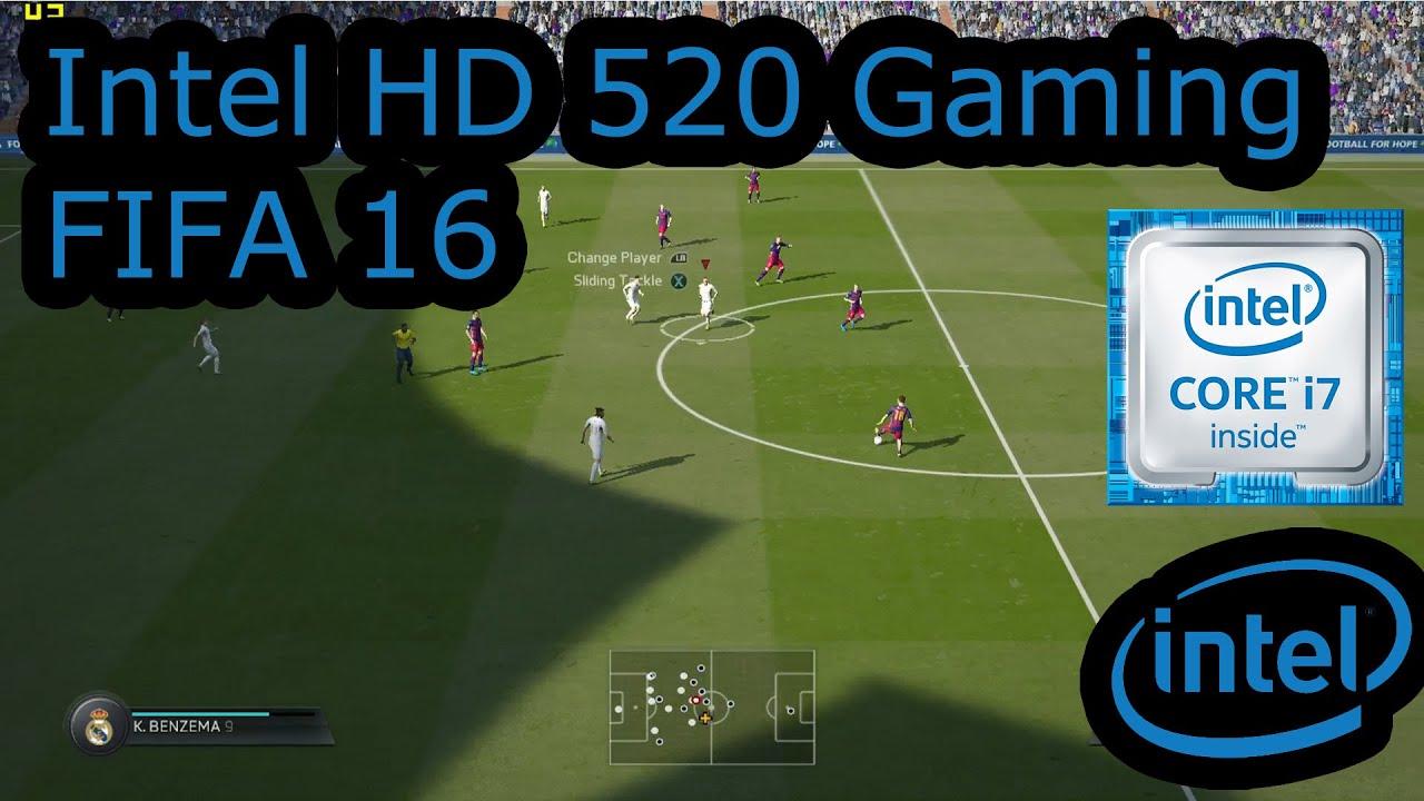 intel hd 520 gaming fifa 16 skylake i3 6100u i5 6200u i7 6500u surface 4 pro youtube. Black Bedroom Furniture Sets. Home Design Ideas