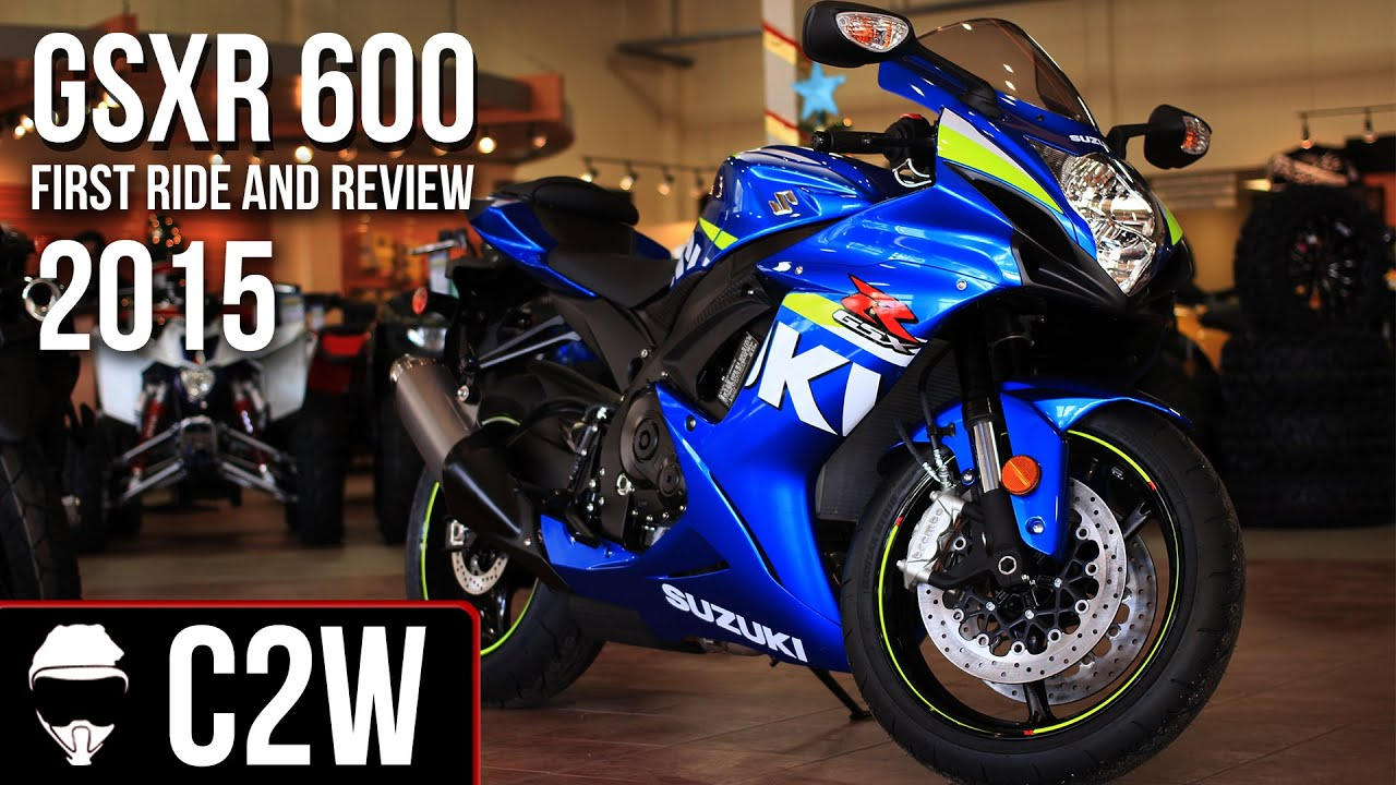 Suzuki Gsxr 600 >> 2015 Suzuki GSXR 600 - First Ride and Review - YouTube
