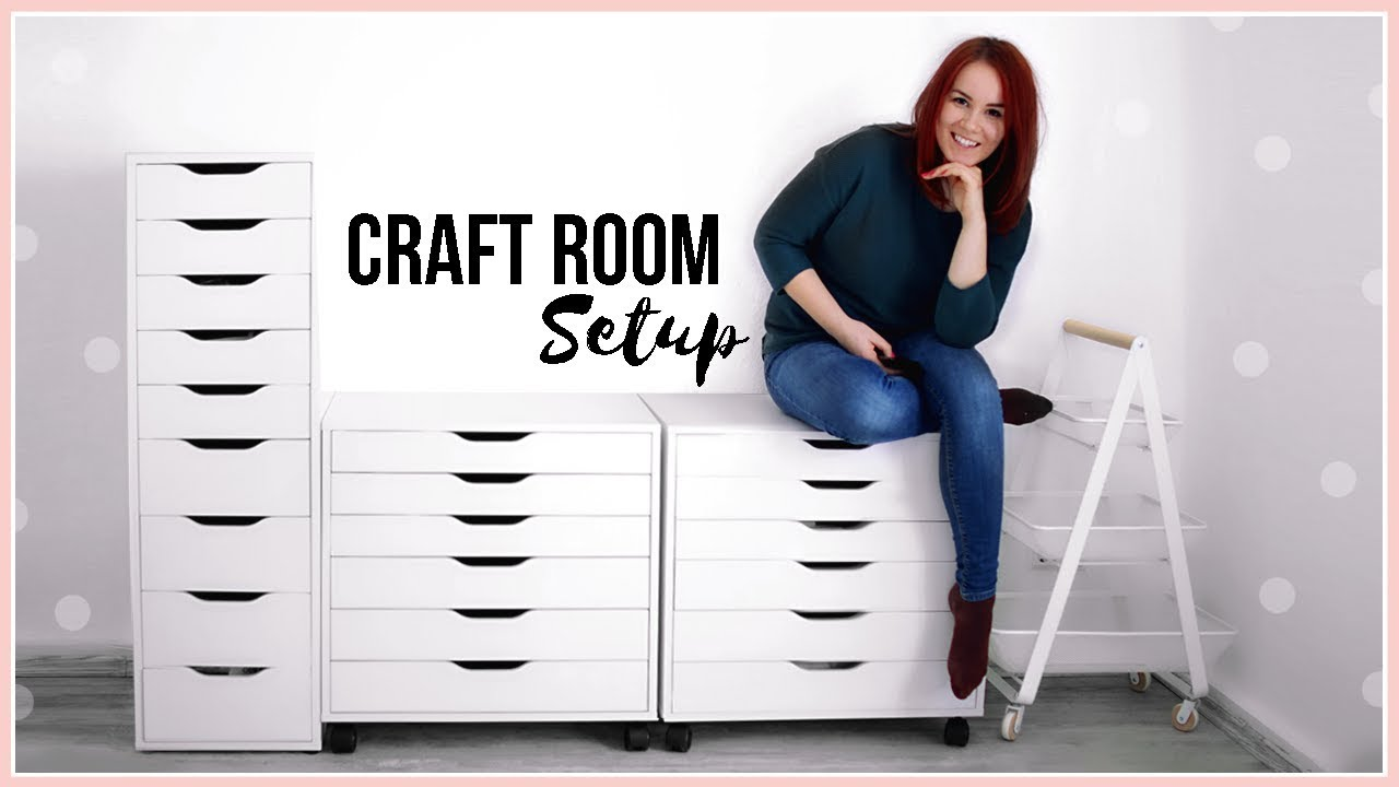 Craft Room Storage Ideas Setting Up My Furniture Moving Into My