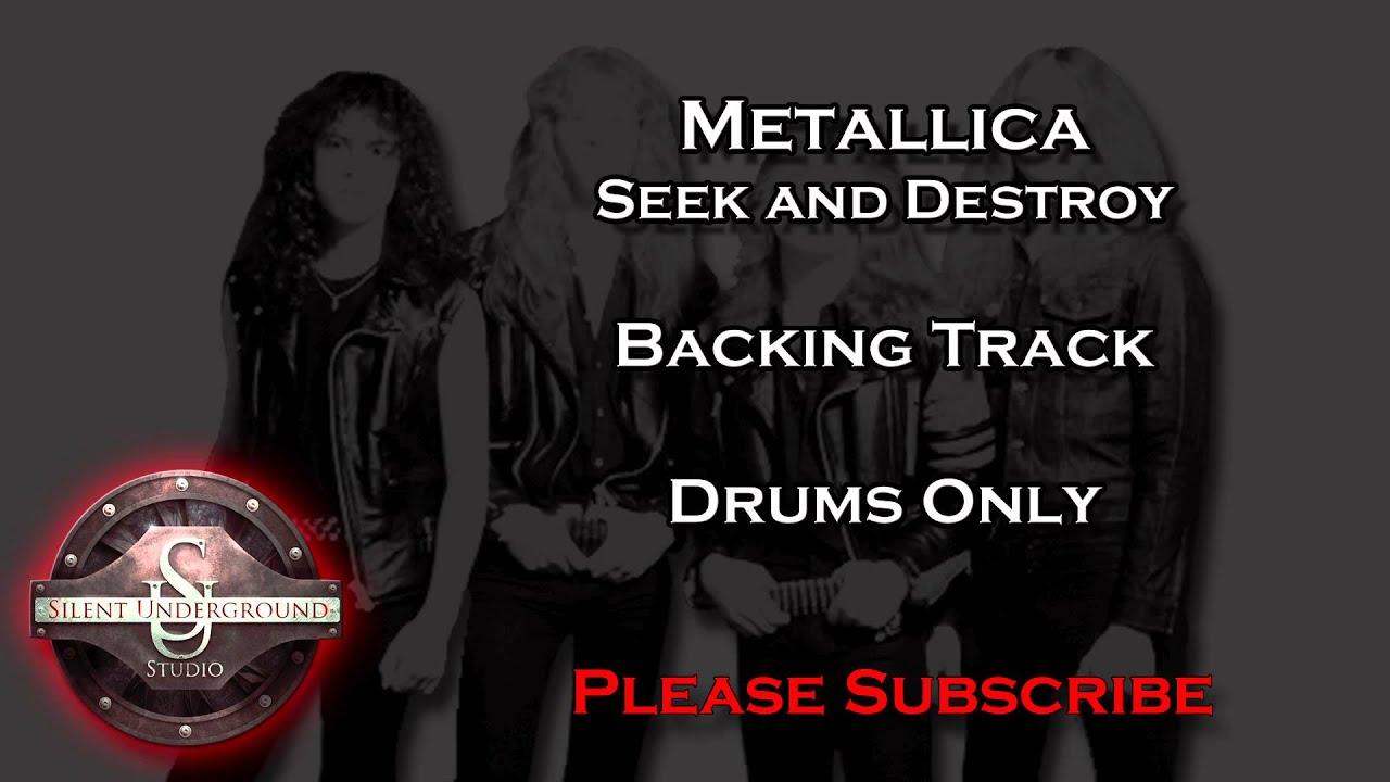 Metallica - Seek and destroy (Guitar Backing Track) - YouTube