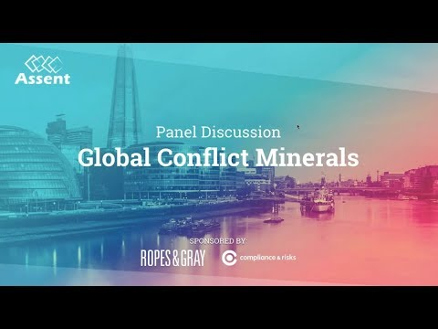 [Webinar] Supply Chain Summit Series: Global Conflict Minerals