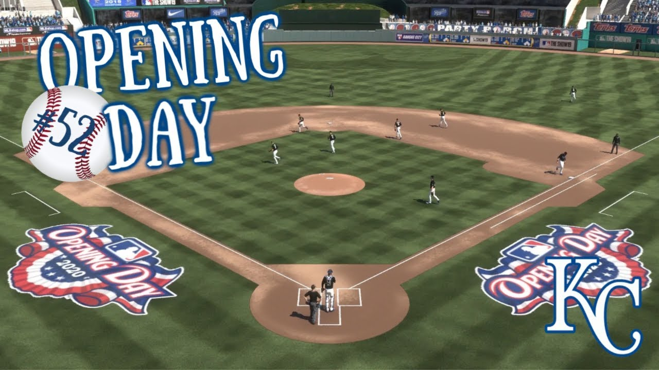 Royals Home Opener 2020.Opening Day 2020 Royals Rebuild Ep 52 Mlb The Show 19