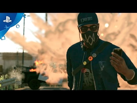 Watch Dogs 2 - Launch Trailer   PS4