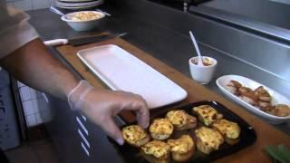 Maggiano's Little Italy Pan Seared Shrimp & Butternut Squash Bruschetta