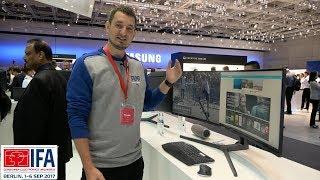ДЛИННЮЩИЙ МОНИТОР от SAMSUNG ! Samsung CHG90 ✔ IFA 2017