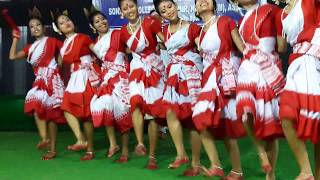 #Jhumur Dance #GauhatiUniversity Inter College Youth Festival Central Zone, 2018 #SonapurCollege H9