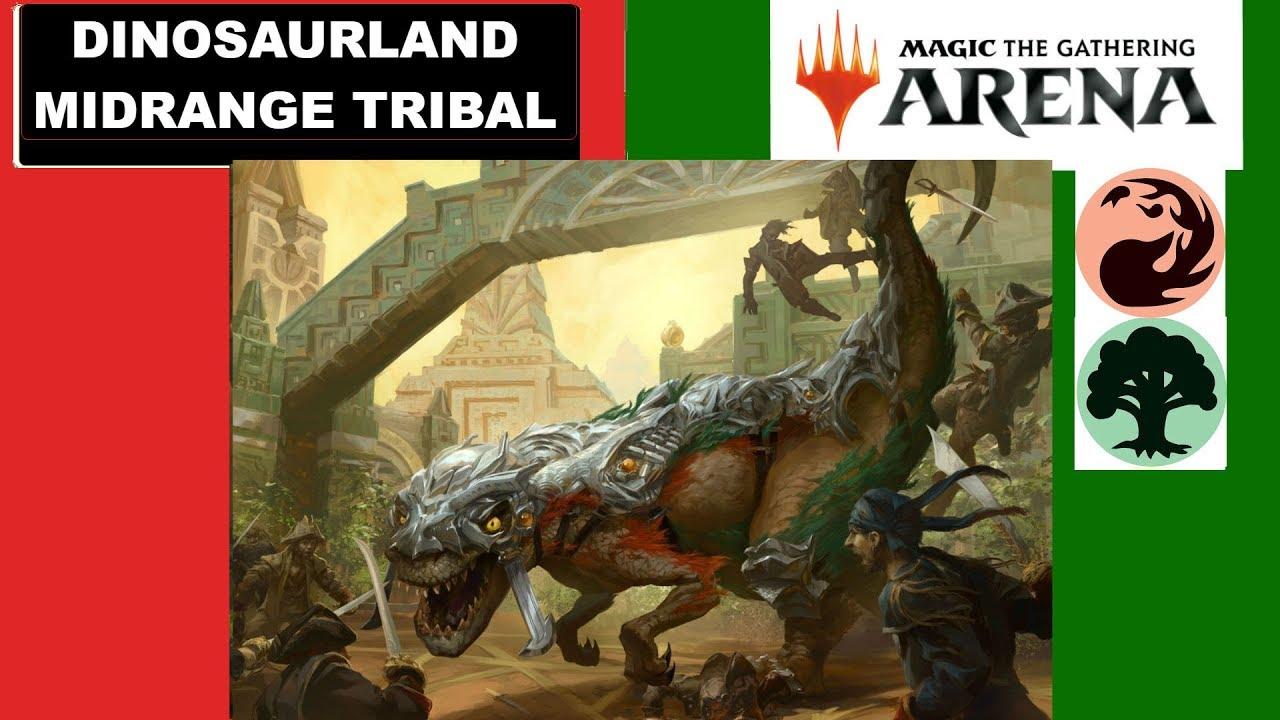 Ixalan Magic Ansturm der Dinosaurier 2x Dinosaur Stampede