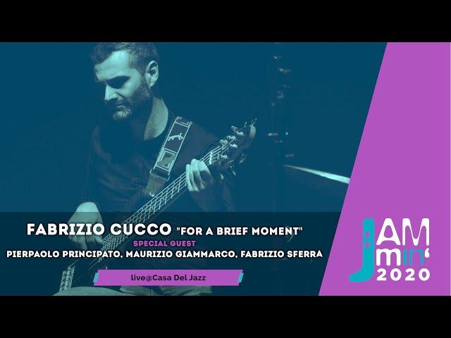 Fabrizio Cucco feat.Pierpaolo Principato, Maurizio Giammarco, Fabrizio Sferra | live@Jammin'2020