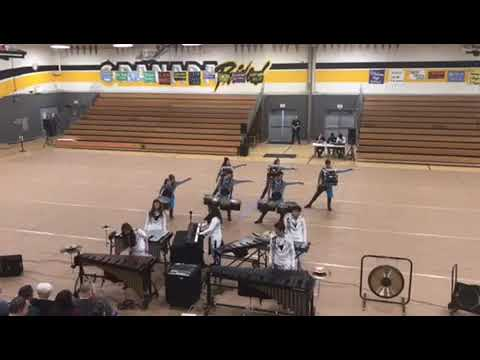 "Petaluma High School Drumline ""Touch"" 2019"