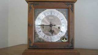 Hamilton Mantle Mantel Clock - Westminster Chime - 340-020