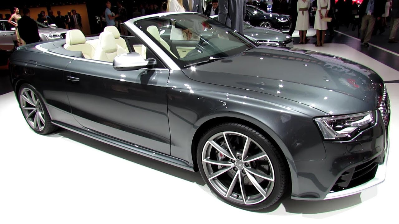 2014 Audi RS5 Convertible - Exterior and Interior ...