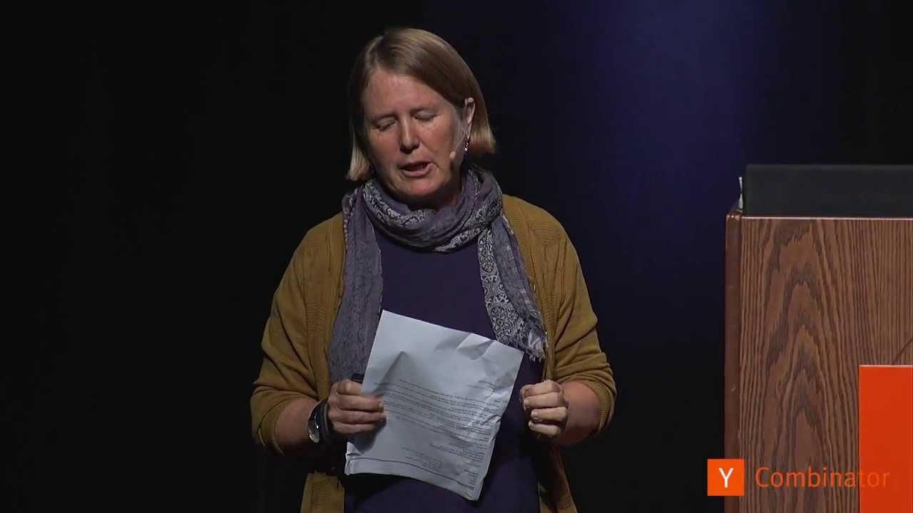 Diane Greene at Startup School 2013