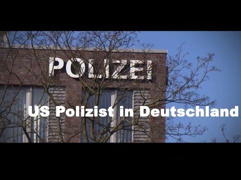 US Polizist in Deutschland, Hamburg - Austauschcop - Polizei Doku 2017 HD