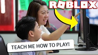 REACTING TO IF OUR TEACHERS PLAYED ROBLOX!