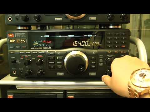 Posso sentire 164kHz Mongolia Radio? / JRC NRD-545