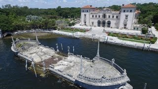 DJI PHANTOM 3 at VIZCAYA MUSEUM and GARDENS