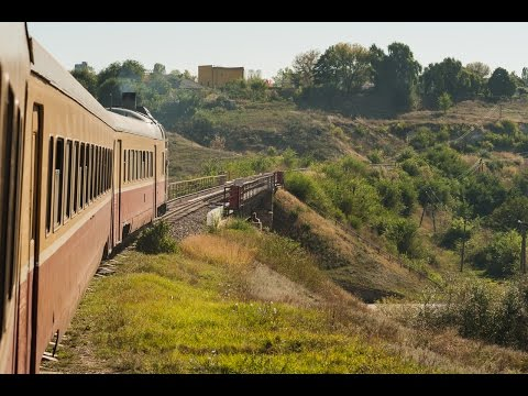 Travel by train in Moldova