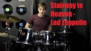 Stairway to Heaven Drum Tutorial - Led Zeppelin