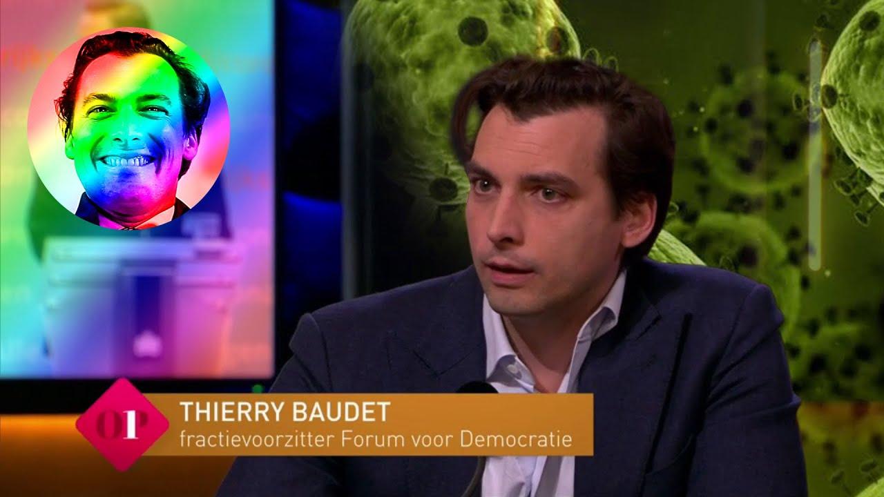 Thierry Baudet over intelligent coronabeleid bij OP1 - 7 april 2020