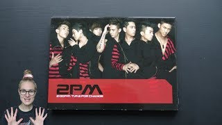 Unboxing 2PM 투피엠 2nd Korean Single Album 2:00pm Time for Cha…