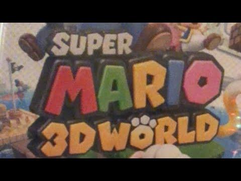 SM3DW Mario% No Powerups Speedrun Practice (Super Mario 3D World)