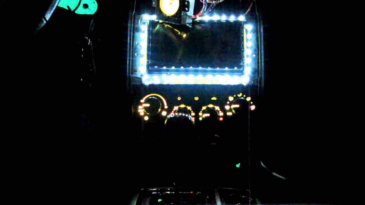 Instrumentenbeleuchtung Chrysler 300C - YouTube