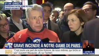 Notre-Dame de Paris : les pompiers