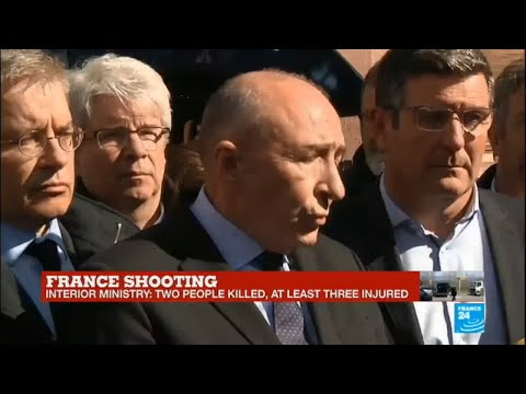 France shooting: Watch the French interior minister Gérard Collomb's press conference