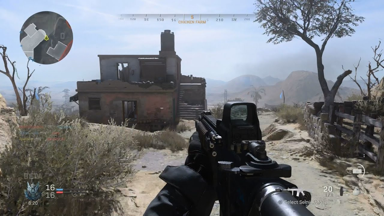 Call Of Duty Modern Warfare Team Deathmatch Gameplay No Commentary Youtube