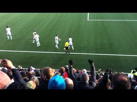 Faroe Islands vs Greece Brandur Olsen's goal to 2-0