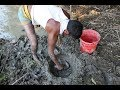 Amazing - Village people Fishing from Mud