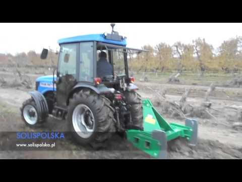 Ciągnik sadowniczy Solis 75N