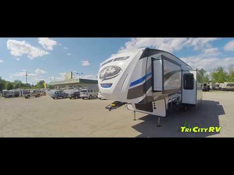 The 2018 Forest River Arctic Wolf 315TBH8, Fifth Wheel RV