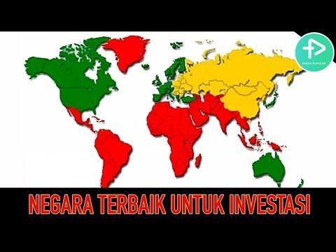 JADI INCARAN INVESTOR DUNIA! 5 NEGARA TERBAIK UNTUK INVESTASI, INDONESIA NOMOR BERAPA?