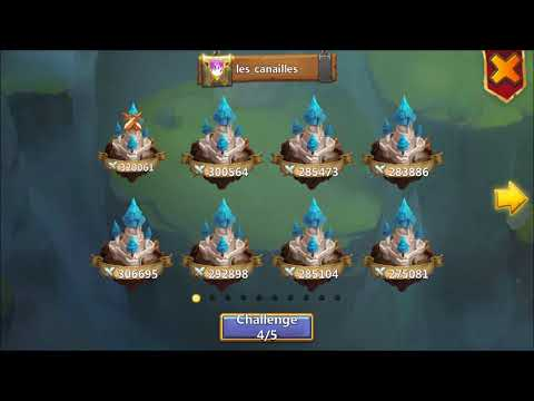 Snipe WHAT? THE POCAY try to SNIPE His EXACT BASE REPLICA in GW XD Castle Clash