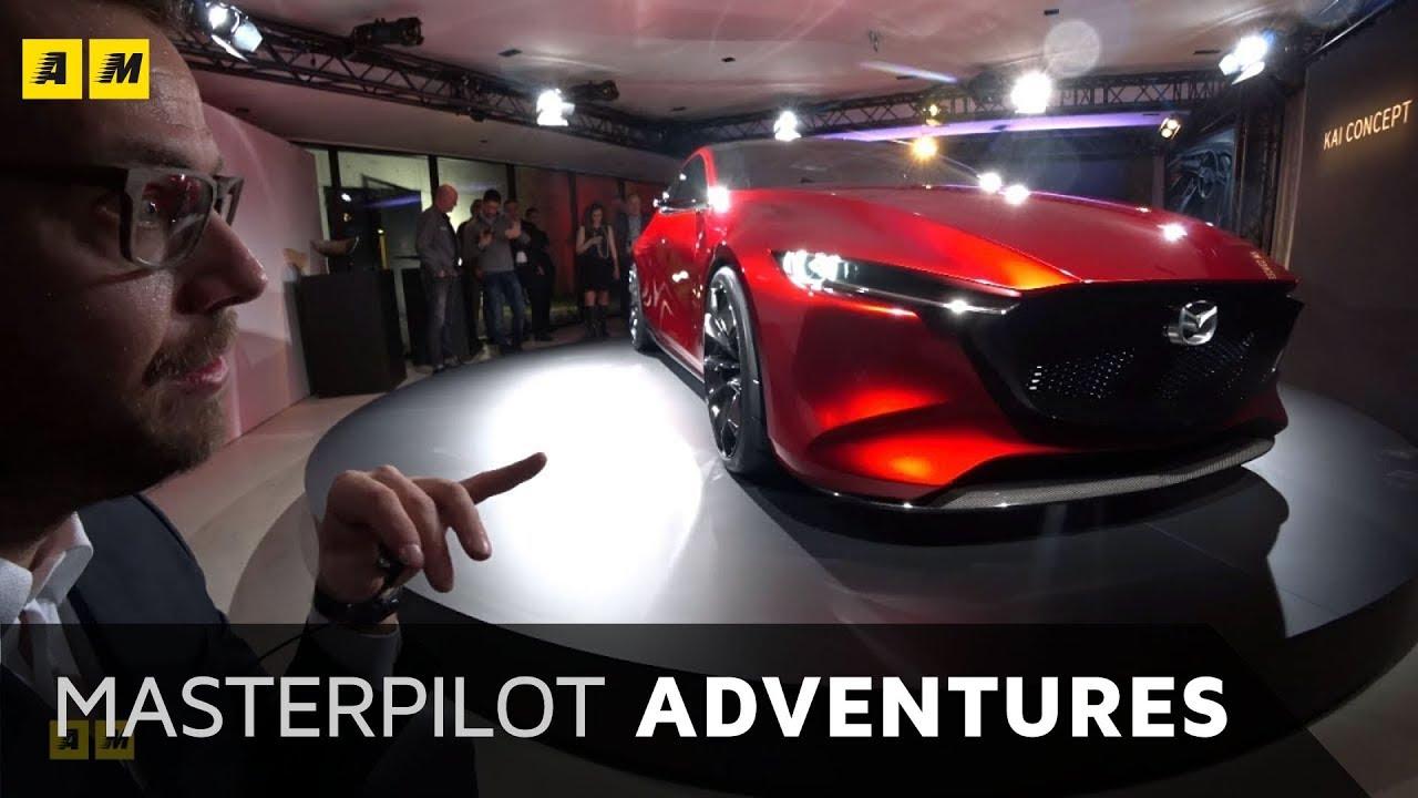 Mazda 3 2019 Design Kai Concept E Motore Skyactiv X Youtube