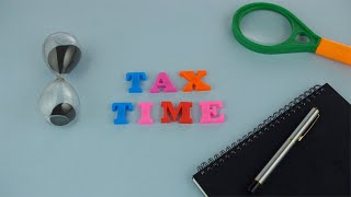 Tax Time - Pan shot of a notification or a reminder to file tax returns in India
