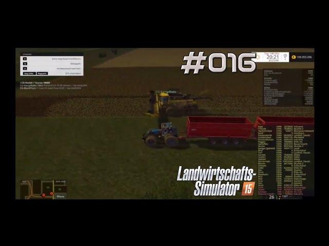 Let's Play Landwirtschafts Simulator 2015 | Gerste abfahren | Folge #016