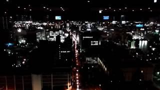栃木県庁 展望フロア 夜景
