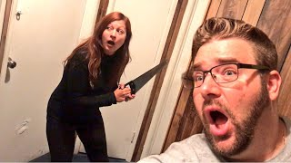 BROKE IN MY MOMS HOUSE! YOU WONT BELIEVE WHAT WE FOUND!