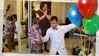 Химическое шоу на дне рождение у Ванечки.